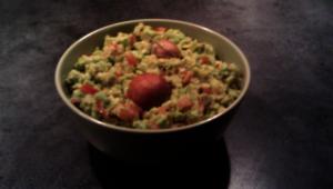 Ferdig guacamole