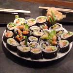 Hjemmelaget sushi med nye smaker