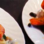 Laks med potetmos og blomkålpurè