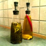 Smakssatt olivenolje
