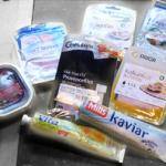 Allergivennlig pålegg: Skinke, laks, majones, kaviar og syltetøy