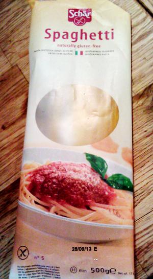 Glutenfri pasta fra Schär