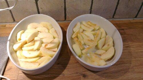 Enkel eplepai