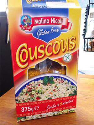 Glutenfri couscous