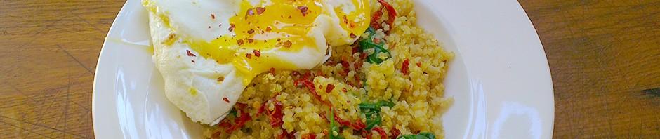 Enkel lunsj med quinoa