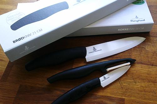 Porselenkniver fra Porsgrund