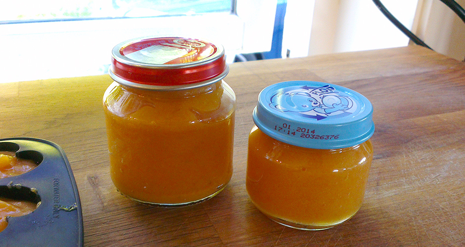 Barnemat: gulrot- og potetpuré