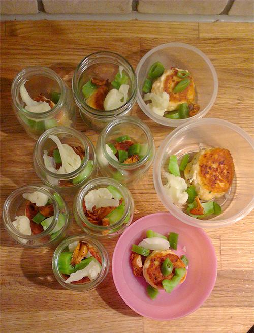 Små middagsporsjoner til barn