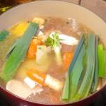 Høstsuppe med kalvebein