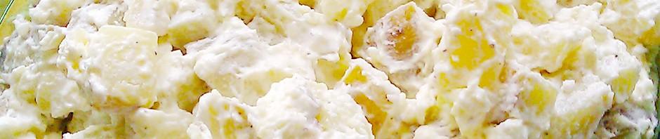 Hjemmelaget potetsalat uten melk